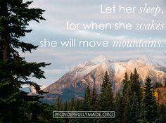 Move mountains. #wmade