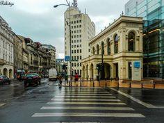 """After Rain in Bucharest""  (Rikitza.deviantart.com, 2014) Bucharest, Perspective, Rain, Street View, Deviantart, Ideas, Perspective Photography, Rain Photography, Thoughts"