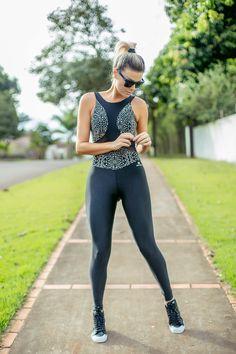 ACADEMIA COM ESTILO: Moda Fitness com opções para o treino!