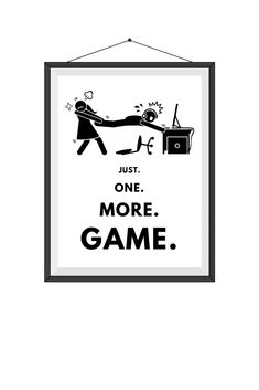 Don'T know what to buy for your video-gaming loved one? this is the perfect gift for gamers of all ages. gamer-approved wall art can be printed as Teen Boys Room Decor, Boys Game Room, Boys Bedroom Decor, Boy Room, Kids Room, Teen Game Rooms, Nerd Gifts, Gamer Gifts, Video Game Rooms