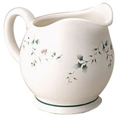 Features:  -Holds 24 oz..  -Made of chip resistant stoneware.  -Microwave, dishwasher safe.  -Many accessories and serving pieces available.  -Winterberry collection.  Product Type: -Gravy boat.  Colo
