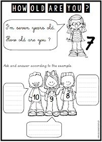 anglais, how old are you, âge, CP, CE1, CE2, freebies, french, teacher, teaching English Class, Teaching English, First Grade, Second Grade, Grade 3, Phrase Interrogative, Mister Wolf, Free Activities, Social Skills