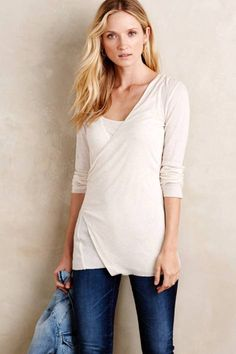 Surplice Layering Tee by Suss | Pinned by topista.com