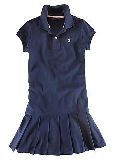 Ralph Lauren Childrenswear Polo Dress - Toddler Girl