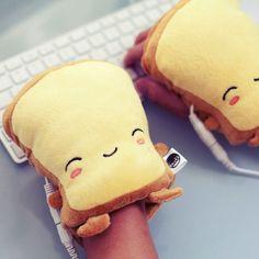Smoko Toast USB Handwarmers