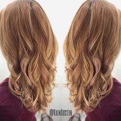 Cut and Color by Victoria #hair #haircolor #goldenhair #hilites #ombre #summerhair #waves #curls #goldenblonde #blondehair #texture #longhair #beautifulhair #vain #vainsalon #modernsalon #maneinterest #hairenvy #btcpics #behindthechair #vainaustin #austinhair #kevinmurphy #maneaddicts #hotonbeauty  #austinhairstylist @vain.victoria.hair