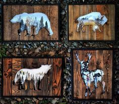 Beautiful Landscape Paintings Emerge from Creatively Carved Wood Frames,Reclaimed Wood Frames Reclaimed Wood Art Woodensense How To Produce Wood Art ? Wood art is usually the task of surrounding about and inside, provided . Wood Projects, Woodworking Projects, Woodworking Jointer, Woodworking Patterns, Woodworking Supplies, Woodworking Plans, Beautiful Landscape Paintings, Reclaimed Wood Frames, Wooden Pallet Signs