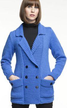 Novita Oy - Neulemalli: Naisen neulottu jakku