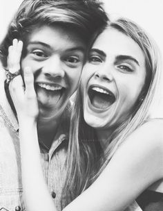 Cara delevingne and harry styles would be so perfect