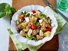Salatrezepte - hier gibts was in die Schüssel! - ciabatta-brot-salat