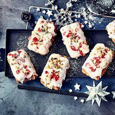 Mini Stollen, Dairy, Sugar, Cheese, Cookies, Desserts, Christmas, Food, Dried Cherries