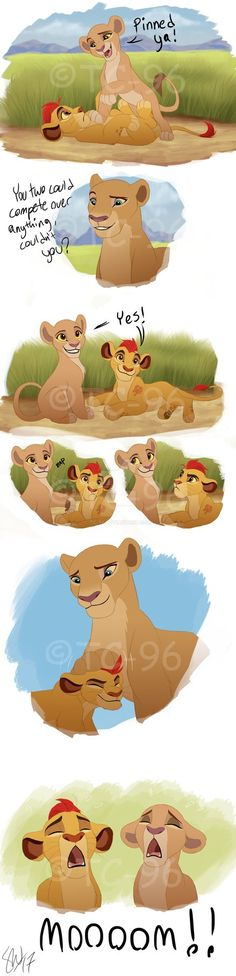 I got bitten by the TLK bug after seeing the newest Lion Guard episode ^^ I just loved seeing Kiara, Kion and Nala interact with each other, and the way Kiara and Kion work off each other is so muc...