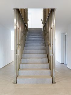 Wohnüberbauung Grabenstrasse in Aarau_Rohr Stairs, Home Decor, Trench, Small Condo, Pipes, Floor Layout, Stairway, Decoration Home, Staircases