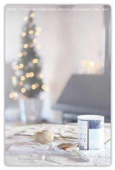 Cazadora de inspiración: Más cositas para decorar la Navidad. Еще одни декоративные штучки для Нового Года.