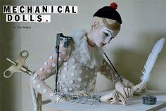 Mechanical Dolls | Vogue Italia 2011