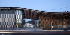 La nouvelle Cité des Arts et de la Culture à Besançon par Kengo Kuma