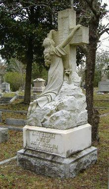 Oakdale Cemetery, Wilmington, NC. Jessica and I used to love to walk this cemetery.