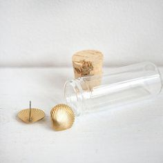 Large Brass Shells, $18, now featured on Fab.