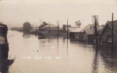 Flood in Lismore, NSW,  23 July 1921