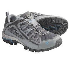 Columbia Sportswear Shastalavista Trail Shoes - Waterproof (For Women) in Smoked Pearl/Alaskan Blue
