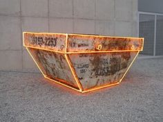 Container de David Batchelor #ligths #art