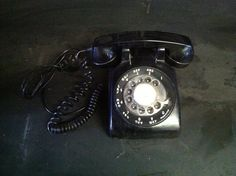 1960's Vintage Rotary Telephone