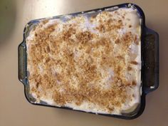 Golden Corral copycat Banana Pudding  1 (14 oz) can sweetened condensed milk 1 1/2 cup cold milk (or water) 1 (4 oz) size package instant vanilla pudding 1 (8oz) Cool Whip box vanilla wafers 3 large bananas, sliced Mix sweetened condensed milk with water. Add pudding mix and beat well. Chill in refrigerator for 5 minutes. Fold in thawed Cool Whip. Spoon 1 cup of pudding in bottom of serving dish. Top with 1/3 of each of the bananas, wafers and pudding. Repeat layering twice, ending with…