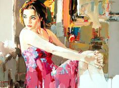 Artwork by Josef Kote - Painting You With Words