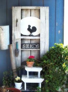 Estantería para el patio de tu casa   Muebles De Palets