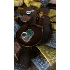 Dutchbone vintage Arabica bijzettafel - Vintage tafels - Tafels | Zen Lifestyle