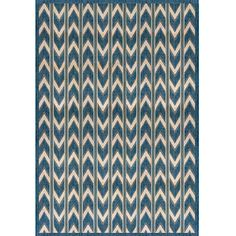 """Chevron"" Outdoor carpet 