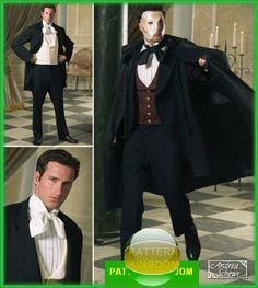 Simplicity 4482 PHANTOM of the OPERA Gothic Cape Pattern* I think this will work for beast *