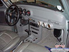 O Volkswagen Karmann Ghia, Jetta Vw, Vw Super Beetle, Beetle Car, Vw Bugs, Car Console, Center Console, Carros Vw, Vw Pickup