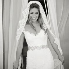 I want a mantilla wedding veil for the church ceremony... elegant, timeless, and reminds me of religion