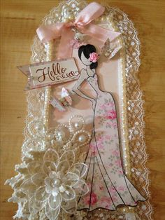 Prima doll I created with Tilda paper!