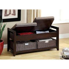 Hokku Designs Upholstered Entryway Bench & Reviews | Wayfair