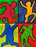 Artsonia Art Exhibit :: Keith Haring Action Poses