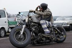 Harley Rat Bike...