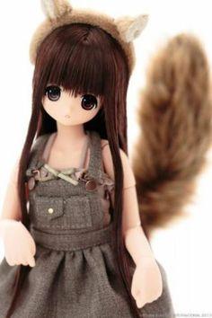 Azone ExCute Komorebimori no Dobutsutachi Squirrel Chiika Doll Show Limited Hina Dolls, Anime Dolls, Blythe Dolls, Blackhead Peel Off Mask, Natural Charcoal, Kawaii Doll, Asian Doll, Smart Doll, Ball Jointed Dolls