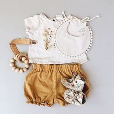 Boho baby girl outfit