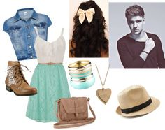 """""""Picnic with Liam"""" by niallhoran101 ❤ liked on Polyvore"""