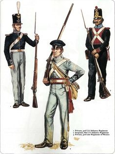 Osprey - Men at Arms 056 - The Mexican - American War 1846 - 48 Mexican Army, Mexican American War, African American History, American Civil War, Military Units, Military Art, Military History, Us History, Women In History