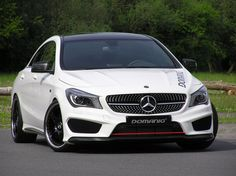 Mercedes-Benz CLA 200 by #Domanig #mbhess #mbcars #mbtuning