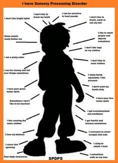 Sensory Processing Disorder http://www.webmd.com/parenting/sensory-processing-disorder