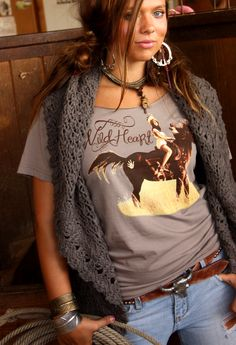 I have this and cut the neck out of it also. Just like the picture. really cute and comfy!