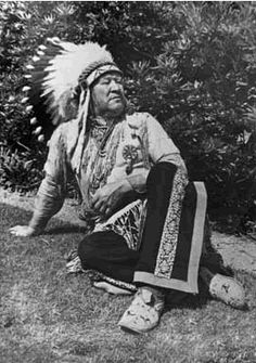 Jim Thorpe in traditional regalia. With his semipro baseball career apparently only a memory, Thorpe made the U.S. team for the Olympic Games at Stockholm in 1912. There he became the only athlete ever to win both the pentathlon and the decathlon.