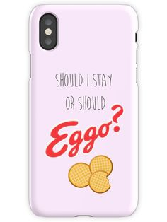 Should I stay or? iPhone X Snap Case