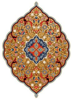 Persian Wallpaper Medallion