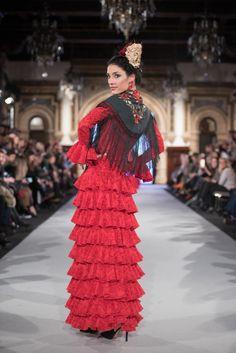 Carmen Acedo - We Love Flamenco 2018 - Sevilla Spanish Dancer, Flamenco Dancers, High Fashion, Womens Fashion, Our Love, Elegant, Mayo, Dresses, Spain