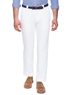 Vintage Cotton Chinos by Incotex Ivory at Gilt USD 129